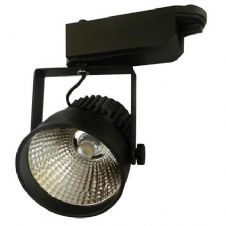 12W LED Interior Floodlight COB Black Body